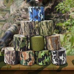 Camouflage tape 15cm x 15cm x 10cm