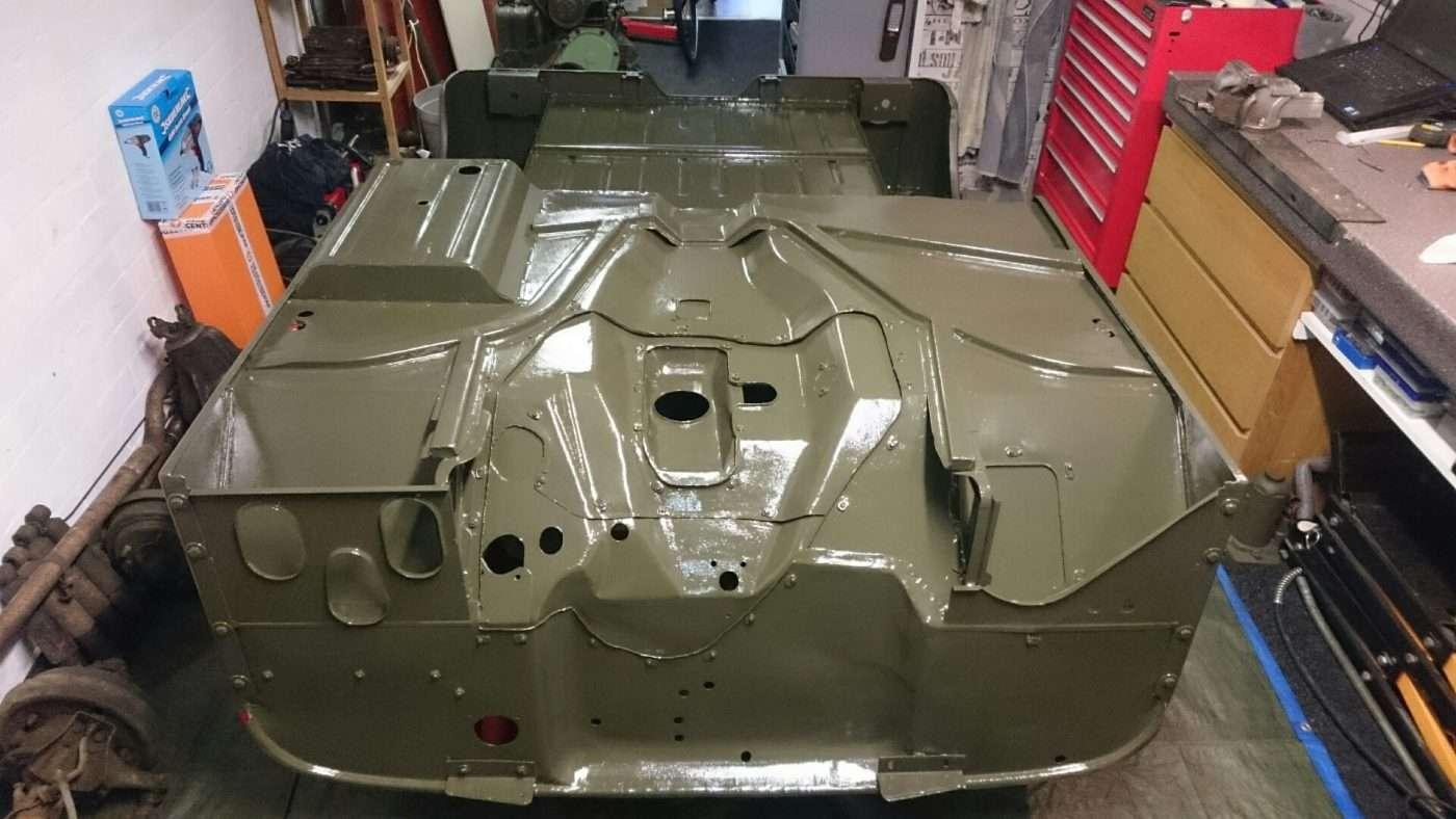 RAL6014 groene body - RJ Army