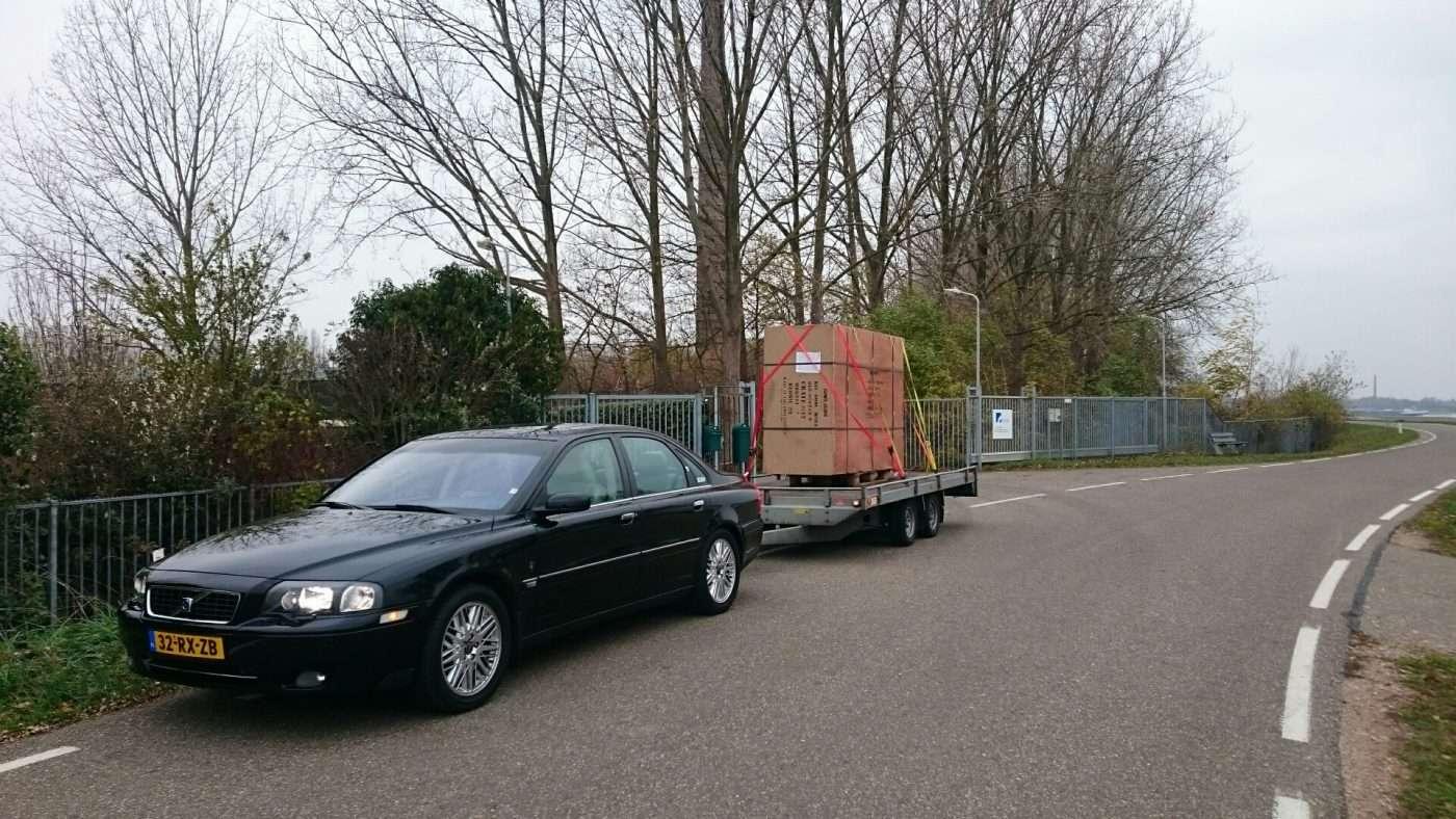 Volvo met Nekaf body