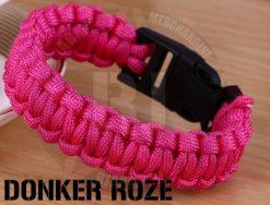 paracord donker roze - RJ Army