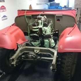 nekaf in garage voorkant -RJ Army