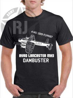 lancaster dam buster flypast shirt