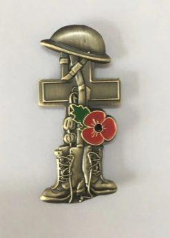 3D poppy herdenking pin - RJ Army Merchandise