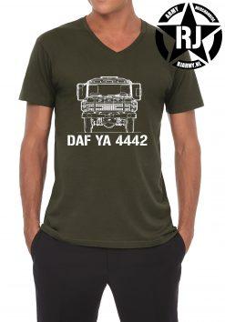 T-shirt DAF YA4442 voorkant - RJ Army Merchandise