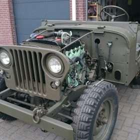 Jeep Nekaf M38a1 voorkant nekaf met gril en radiator - RJ Army Militaria