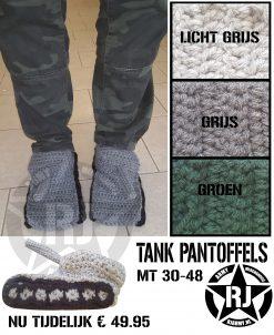 TANK PANTOFFEL - RJ Army Militaria Merchandise