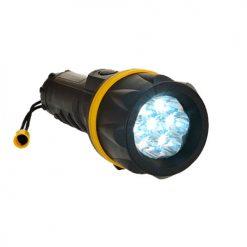 7 LED Rubber Zaklamp