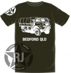 Bedford sponsor shirt.