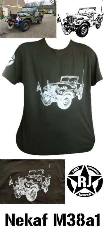 RJ Army Merchandise - Nekaf M38A1 1