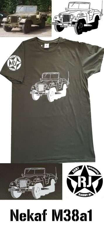 RJ Army Merchandise - Nekaf M38A1 2