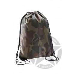 camouflage gymtas-watermerk
