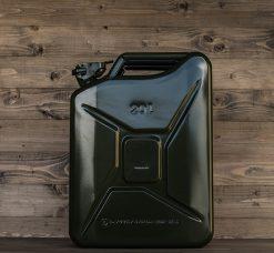 399020 Stalen jerrycan 20L groen