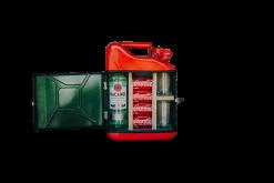 399740 Jerrycan mini bar rood