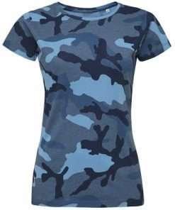 sls01187 Camouflage blauw