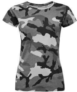 sls01187 Camouflage grijs