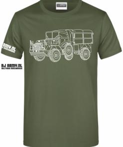 DAF YA 126 open huif - RJ Army Merchandise